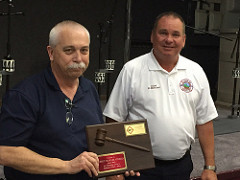 Recognizing Chuck Nichols as Past President