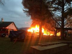 Commercial Farm Fire